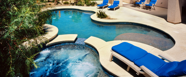 Custom Pool & Spa Design and Construction Services of Las Vegas, Nevada - 360 Exteriors