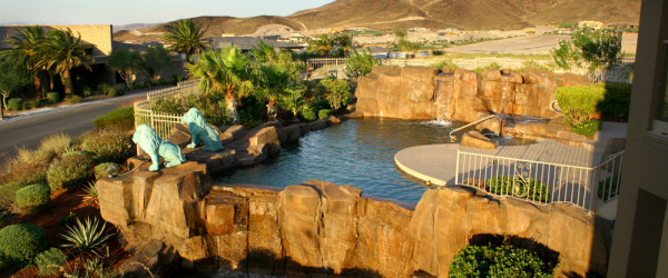 360 Exteriors Rockscape Pool and Spa Design