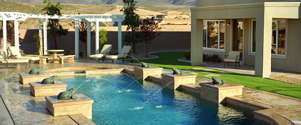 Custom Pool & Spa Design Services of Las Vegas, Nevada