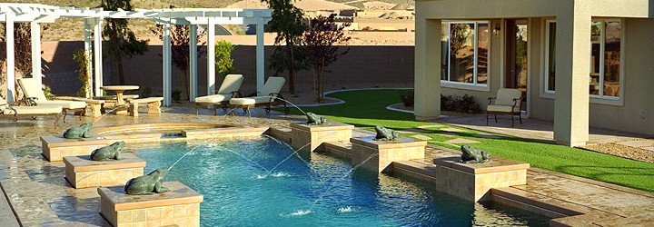 Custom Pool & Spa Design Services of Las Vegas, Nevada