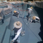 The gunite system 360 Exteriors uses in pool and spa building
