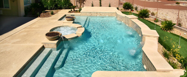Swimming Pool & Spa Design Service of Las Vegas, Nevada