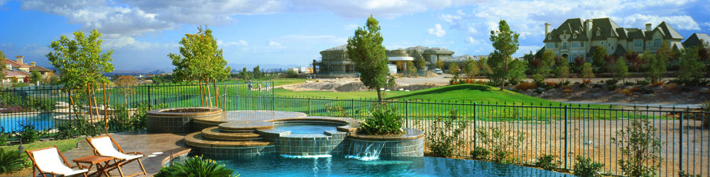 Pool & Spa Design Services as well as Landscaping