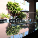 360 Exteriors Contemporary Outdoor Fire Table