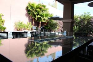 360 Exteriors Contemporary Outdoor Fire Table