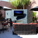 Beautiful Contemporary Entertainment Are - 360 Exteriors Pool & Spa