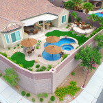 Aerial Pool Photo by 360 Exteriors of Las Vegas - Anthem Nevada