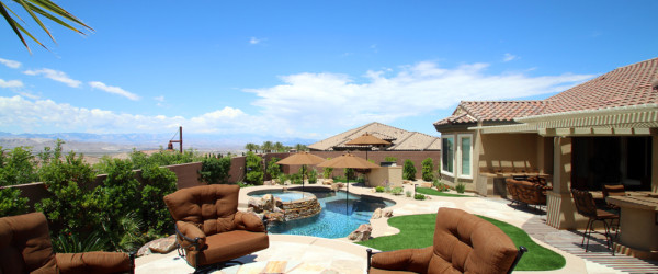 360 Exteriors Custom Pool Plus Extra Features