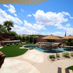 Custom Swimming Pool Designed and Built by 360 Exteriors Pool & Spa of Las Vegas, Nevada