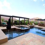 Custom Pool Close-Up - 360 Exteriors Pool & Spa