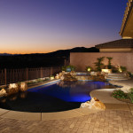 Swimming Pool Design and Constructed by 360 Exteriors Pool & Spa of Las Vegas, Nevada